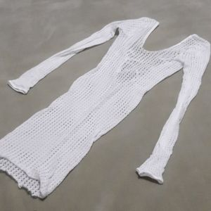 Fishnet dress